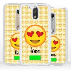 Cover emoticon amore per Motorola