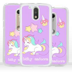 Cover unicorno per Motorola