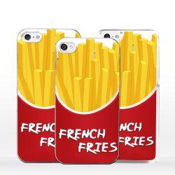Cover patatine fritte per iPhone