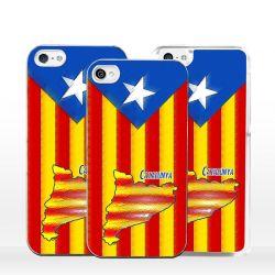 Cover bandiera Catalogna per iPhone