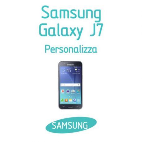 Cover Personalizzata per Samsung Galaxy J7