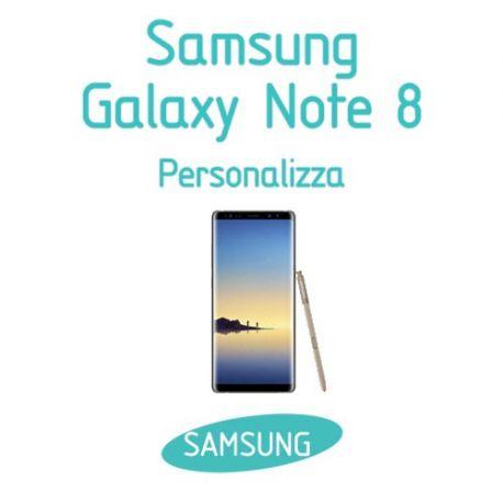 Cover Personalizzata per Samsung Galaxy Note 8