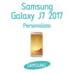 Cover Personalizzata per Samsung Galaxy J7 2017