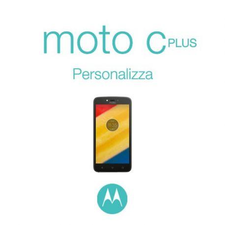 Cover Personalizzata per Motorola Moto C Plus