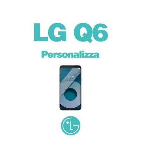 Cover Personalizzata per LG Q6