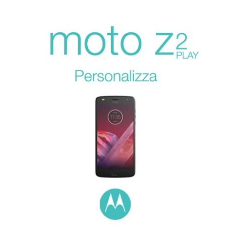 Cover Personalizzata per Motorola Moto Z2 Play