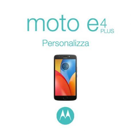 Cover Personalizzata per Motorola Moto E4 Plus