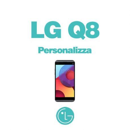 Cover Personalizzata per LG Q8