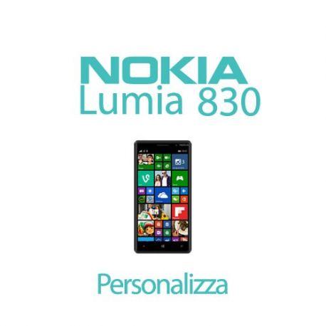 Cover Personalizzata per Nokia Lumia 830