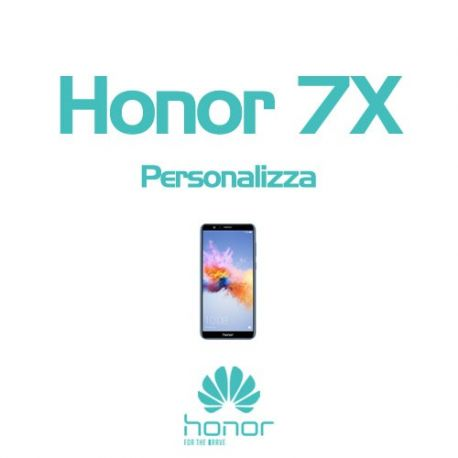Cover Personalizzata per Honor 7X
