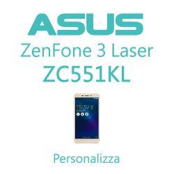 Cover Personalizzata per Asus ZenFone 3 Laser ZC551KL