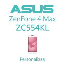 Cover Personalizzata per Asus ZenFone 4 Max ZC554KL