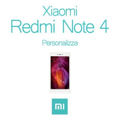 Cover Personalizzata per Xiaomi Redmi Note 4