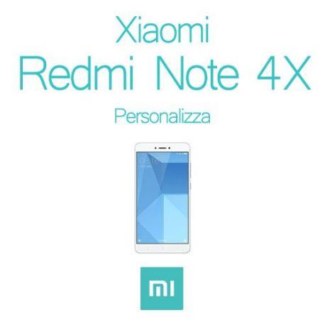Cover Personalizzata per Xiaomi Redmi Note 4X
