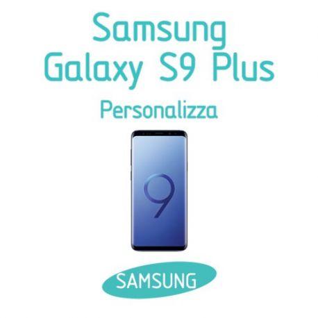 Cover Personalizzata per Samsung Galaxy S9 Plus