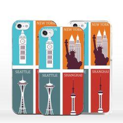 Cover città del mondo per iPhone