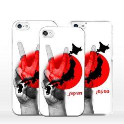 Cover bandiera Giappone per iPhone
