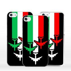 Cover aeroplani tricolori per iPhone