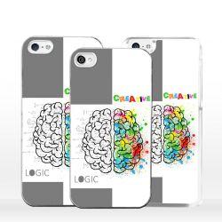 Cover mente logica o creativa per iPhone