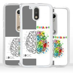 Cover mente logica creativa per Motorola