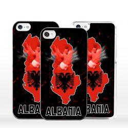 Cover bandiera Albania per iPhone