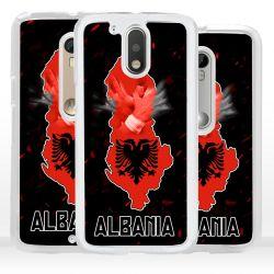 Cover bandiera Albania per Motorola