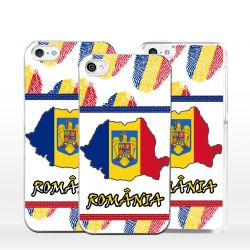 Cover bandiera Romania per iPhone