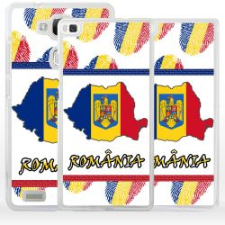 Cover bandiera Romania per Huawei