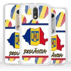 Cover bandiera Romania per Motorola