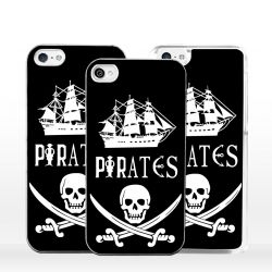 Cover bandiera Pirati per iPhone