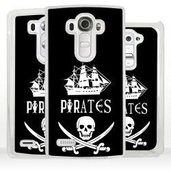 Cover bandiera Pirati per LG