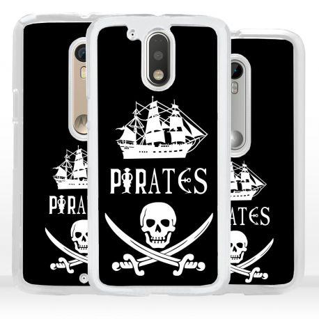 Cover bandiera Pirati per Motorola