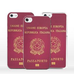 Cover passaporto italiano per iPhone