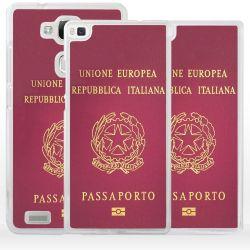 Cover passaporto italiano per Huawei