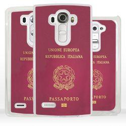 Cover passaporto italiano per LG