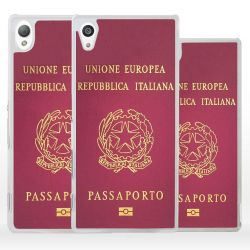 Cover passaporto italiano per Sony Xperia