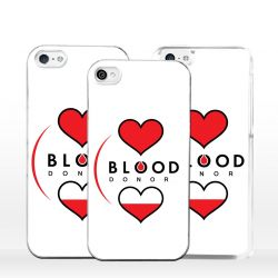 Cover donatore di sangue per iPhone