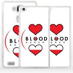 Cover donatore di sangue per Huawei