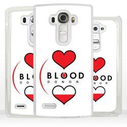 Cover donatore di sangue per LG