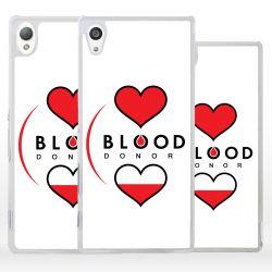 Cover donatore di sangue per Sony Xperia