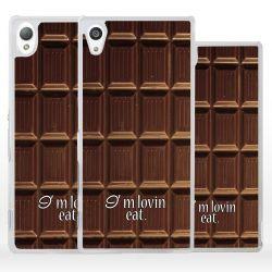Cover tavoletta cioccolato per Sony Xperia