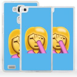 Cover emoticon esasperata per Huawei