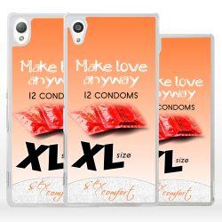 Cover pacchetto preservativi per Sony Xperia