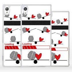 Cover bilancia dell'amore per Sony Xperia