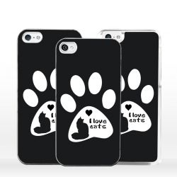 Cover amo i gatti per iPhone
