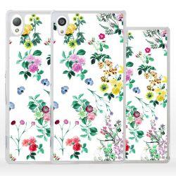 Cover fiori per Sony Xperia