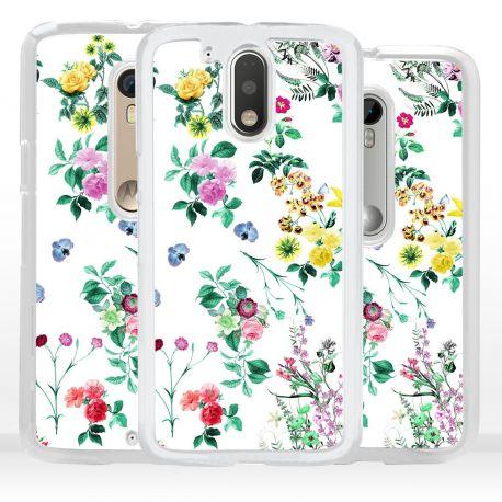 Cover fiori per Motorola