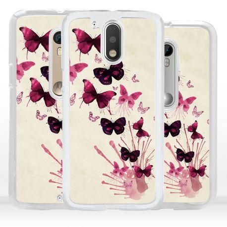 Cover farfalle per Motorola