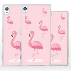 Cover fenicottero rosa per Sony Xperia