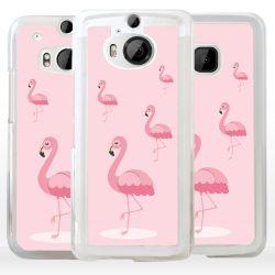 Cover con fenicottero rosa
